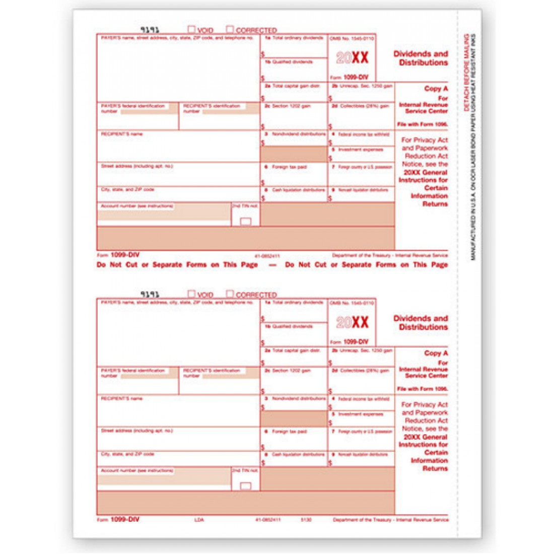 Tax form 1099 div federal copy a free shipping tax form 1099 div federal copy a item no tf5130 size 11 x 8 12 x 11 tax form 1099 div falaconquin