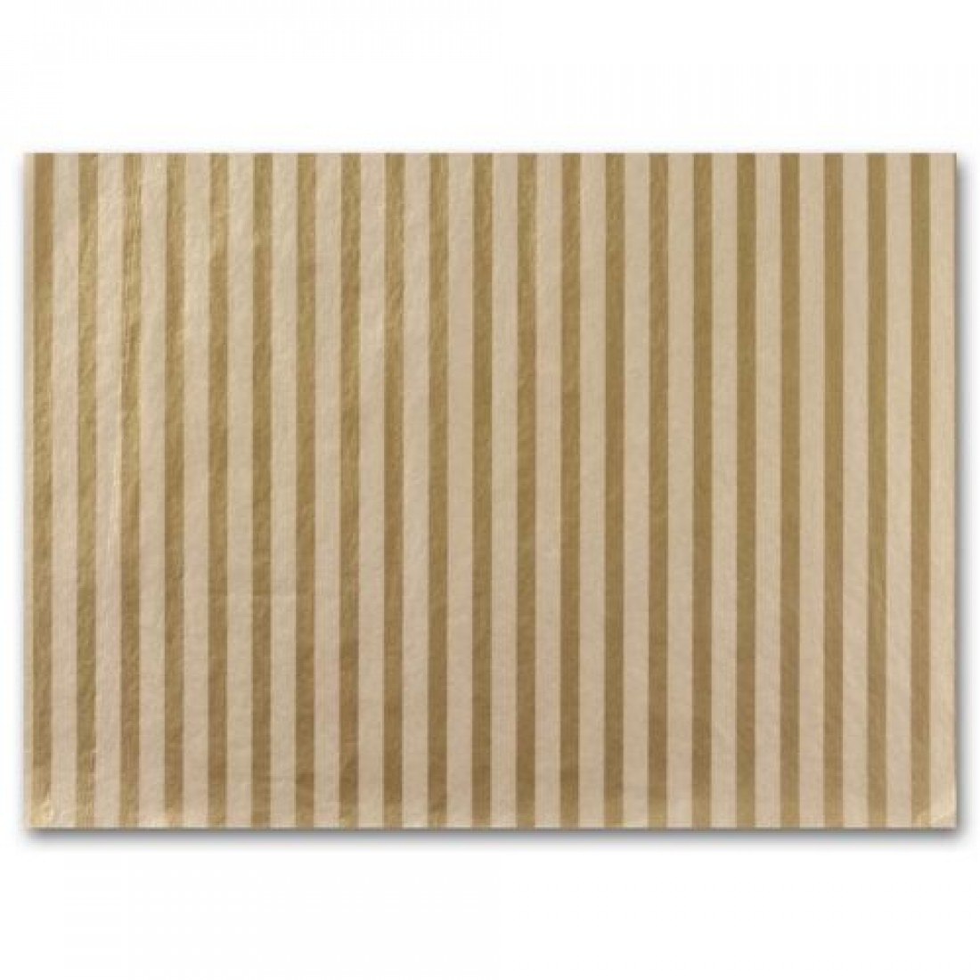 Tissue Paper,  Gold Stripe