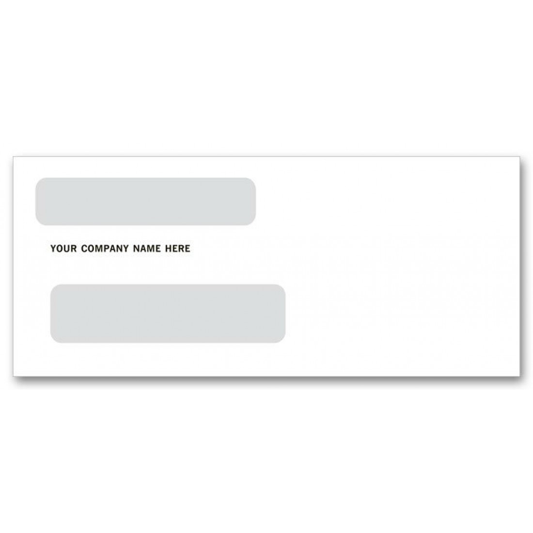 Two window envelopes for checks free shipping for 2 window envelope