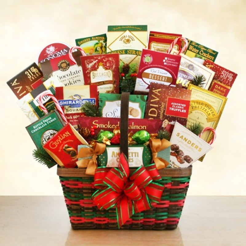 Ultimate merrymaker gourmet corporate gift free shipping