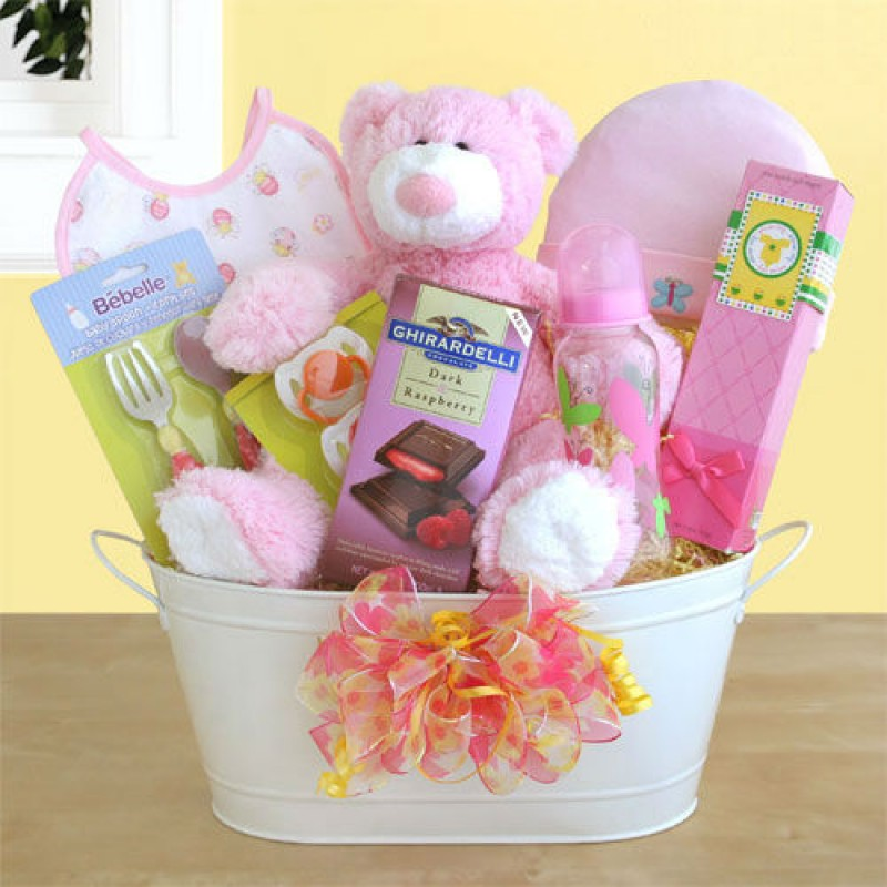 Baby Gift Baskets For Girl : Get off