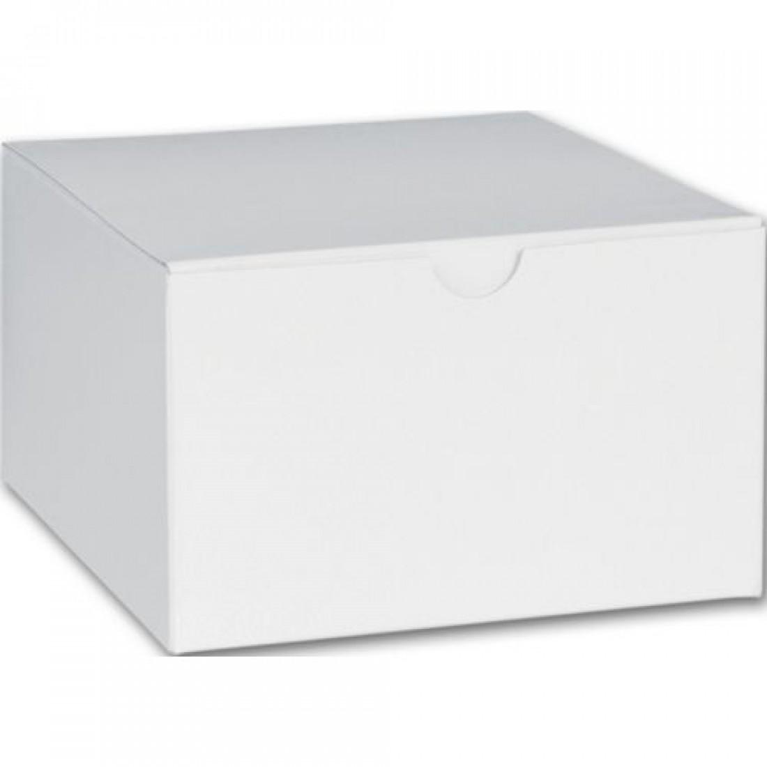 """White 1PC Gift Box 5x5x3"""""""