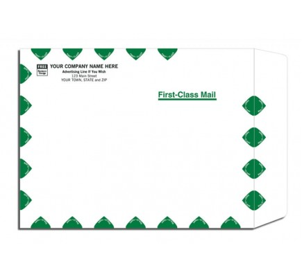 White First-Class Mailing Envelopes