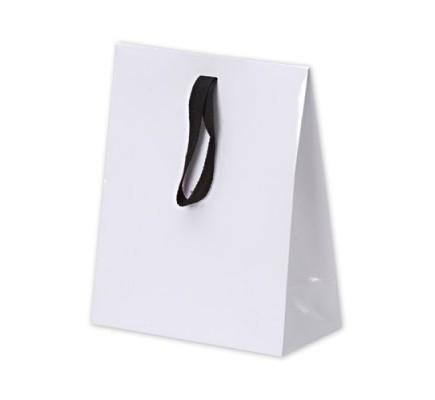 White Gift Euro Bag 8x4x10