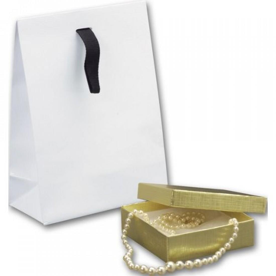 White Gloss Gift Euro Bag