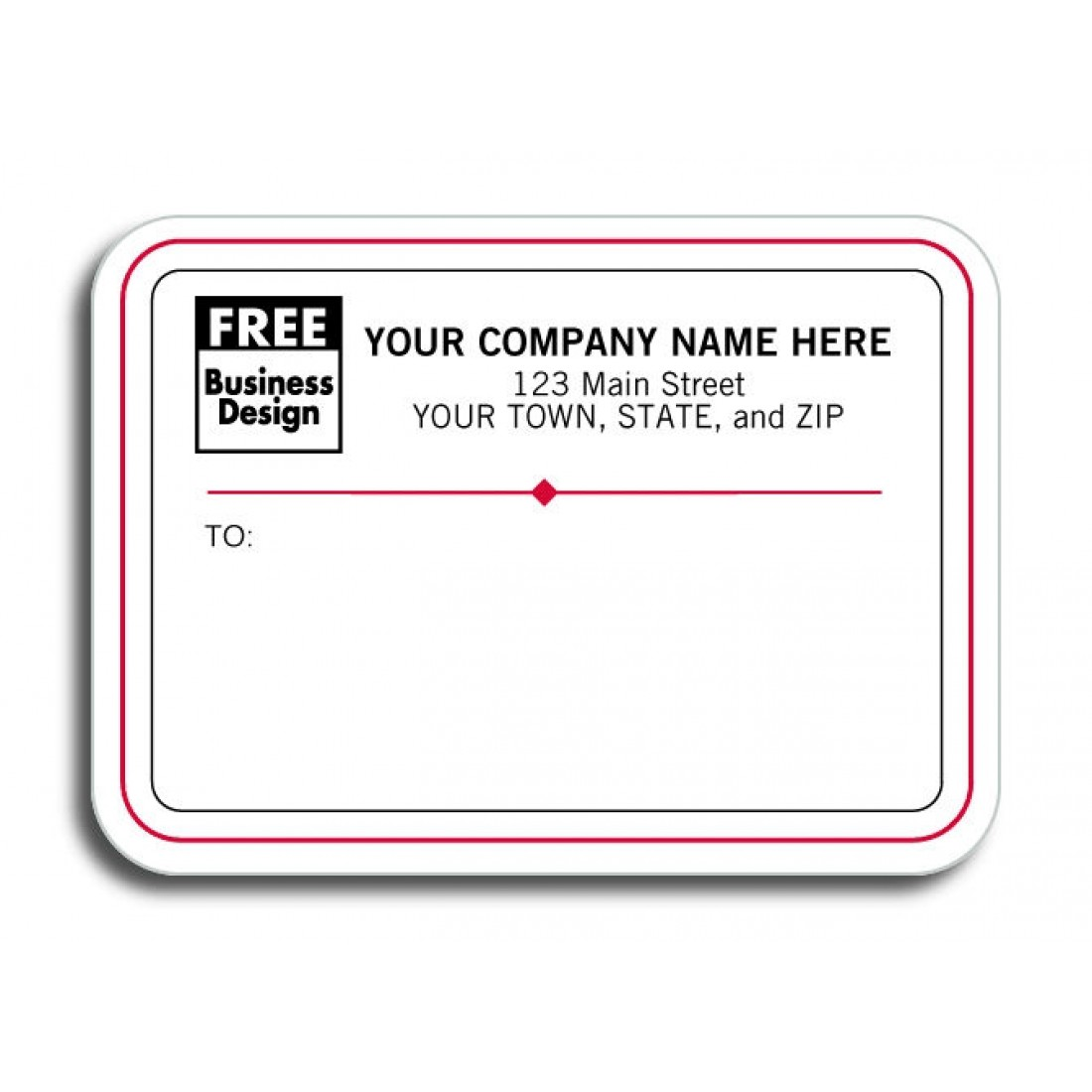 white padded mailing labels free shipping