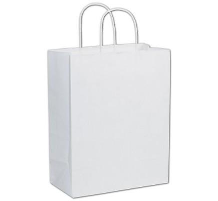 White Paper Bag 10 x 5 x 13