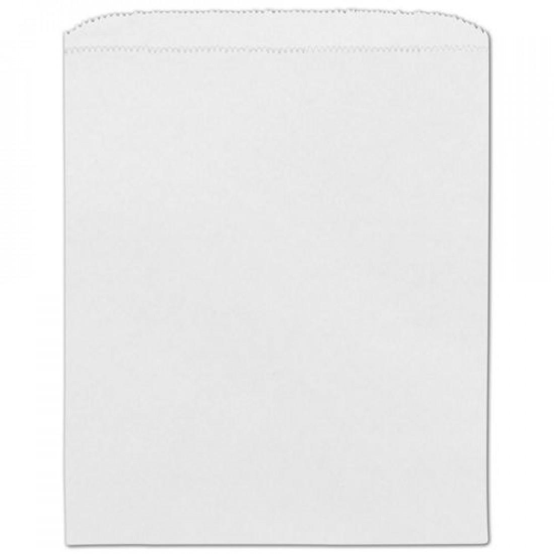 White Paper Bag 8.5 x 11