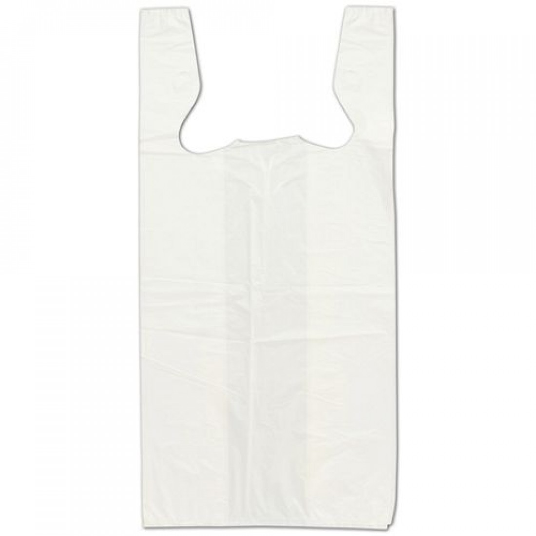 White T-Shirt Bags 11.5x7x23