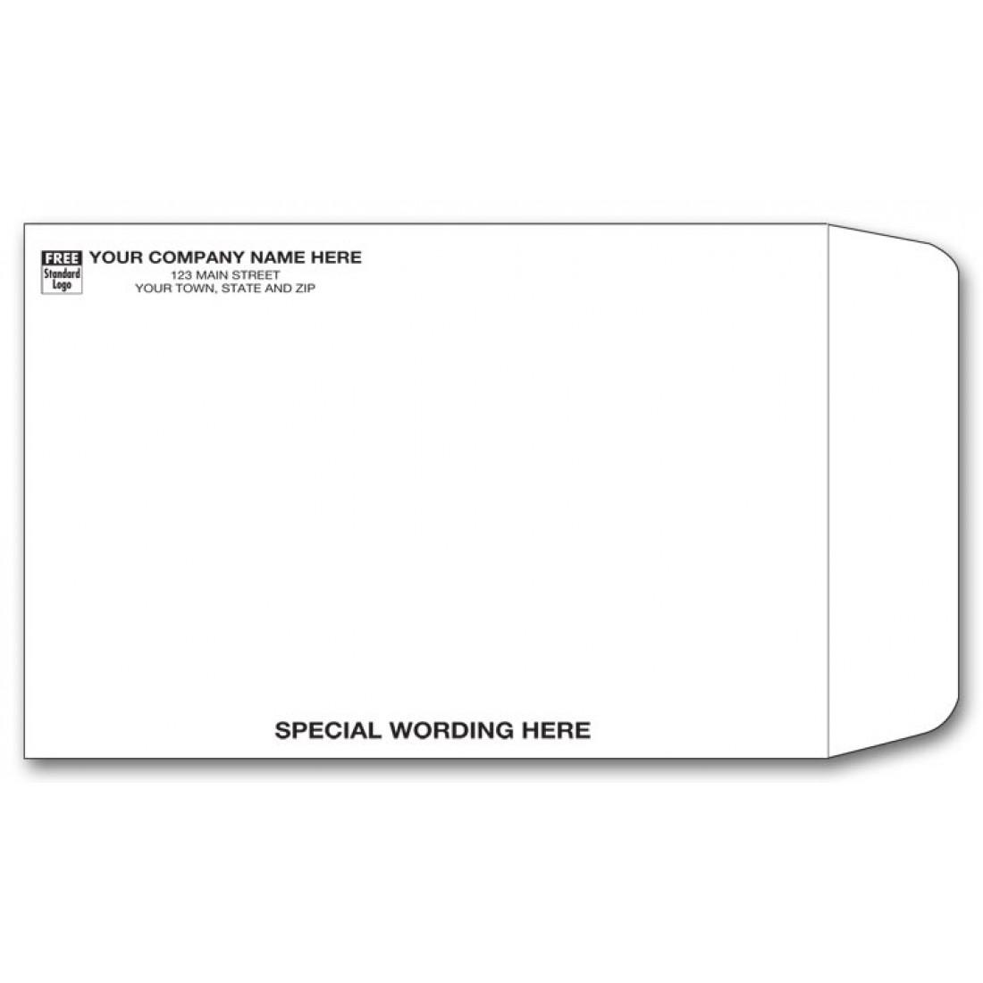 White Tyvek Envelope
