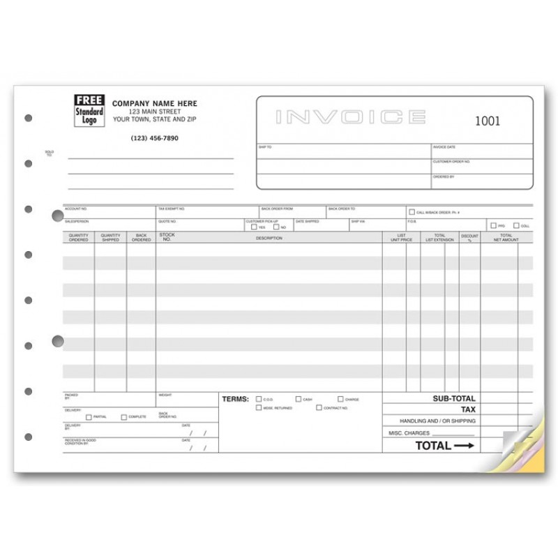 Wholesale Invoice Forms  Invoice Forms Free