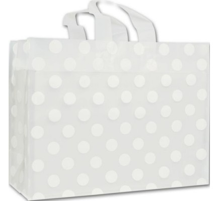 Wht Dot Clr Frst Bag 16x6x12