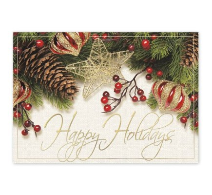 Winterberry Cheer Holiday Cards