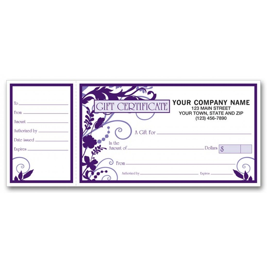 gift certificates online free