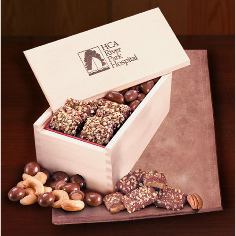 Wooden Collectors Box With English Butter Toffee