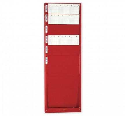 """Work Order Rack For Forms Up To 8 1/2 X 11"""""""