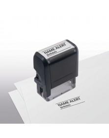 Name Alert Stamp