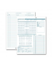 Dental Exam Record Anatomic & Periodontic Diagrams