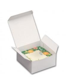 """Gift Box White 4"""" x 4"""" x 2"""""""