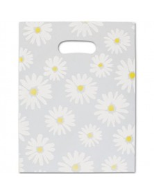 Daisy Frosted Merch Bag 9x12
