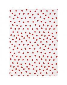 Cont Hearts Tissue 20x30