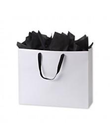 White Matte Euro Bag 20x6x16