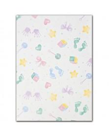 Baby Prints Tissue Paper, 20 x 30