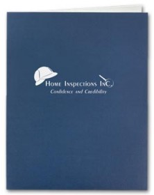 Linen Presentation Folder