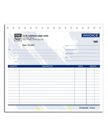Compact Carbonless Invoices (108T) - General Forms  - Business Forms
