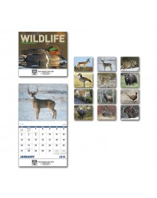2019 Wildlife Portraits Wall Calendar