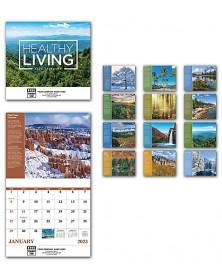 2019 Healthy Living Wall Calendar