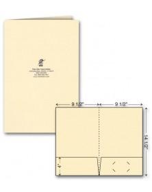 Legal Presentation Folder - Foil Imprint
