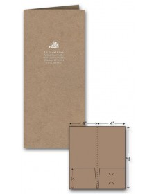 Mini Presentation Folder - Foil Imprint