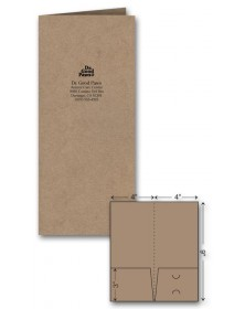 Mini Presentation Folder - Ink Imprint
