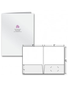 Extra Capacity Presentation Folder - Ink