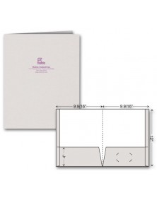 Reinforced Presentation Folder - Foil Imprint
