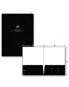 Standard Glossy Presentation Folder - Foil Imprint