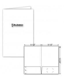 Legal Glossy Presentation Folder - Foil Imprint