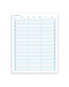 Appointment List 3 Column 15 Min 7-5:45
