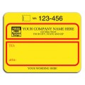 1200B, Padded Jumbo UPS Label, with UPS Account # (1200B) - Mailing Labels  - Labels | Printez.com