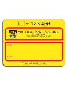 Padded Jumbo UPS Label, with UPS Account # (1200B) - Mailing Labels  - Labels | Printez.com