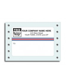 Small Continuous Mailing Labels