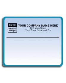 Bluish Laser Mailing Labels