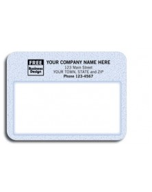 Padded Mailing Label - Blue Patterned (Item #12772) - Mailing Labels  - Labels | Printez.com