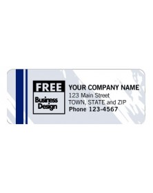 Padded Advertising Label - Color Collection (Item #1293T) - Mailing Labels  - Labels | Printez.com