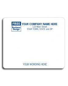 Imprinted Mailing Labels