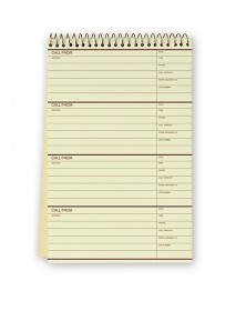 Phone Call Record Book phone message books, phone message pads