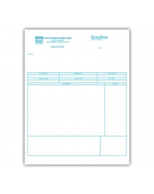 Classic Laser/Inkjet Service Invoice