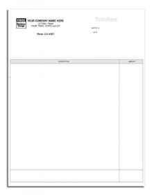 Laser Professional Invoice for ProVenture