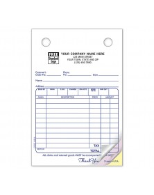 4 X 6 Cash Or Charge Register Form